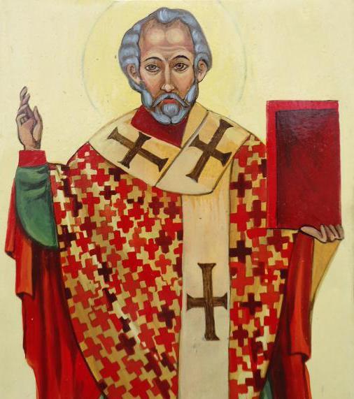 ikona Świętego Mikołaja