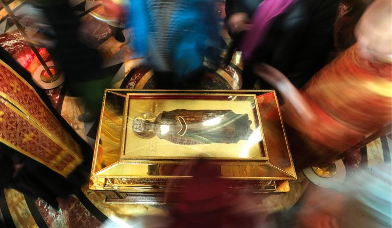 Relikwie św. Mikołaja