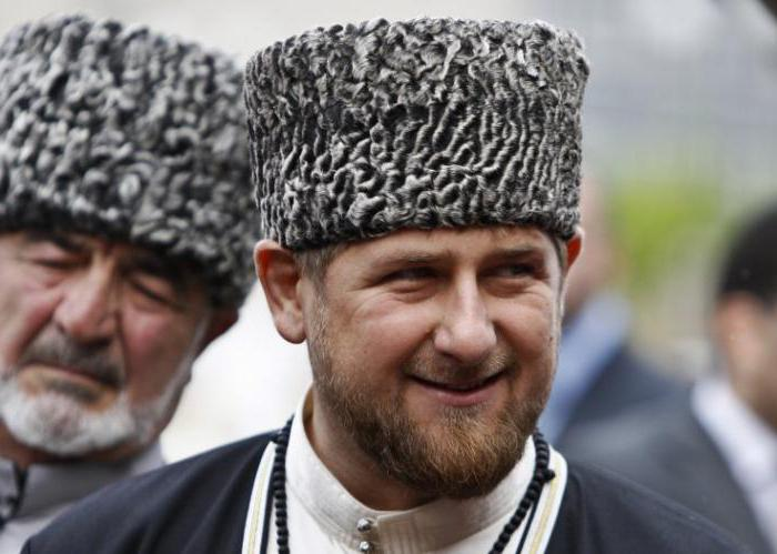 Akhmat Kadyrov biografia