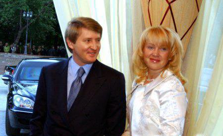 Družina Akhmetov Rinat Leonidovič