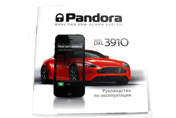 Pandora 3910 Manuale dell'utente