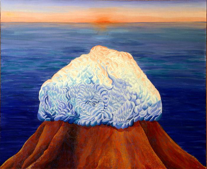 Камъкът на остров Буян Алатир
