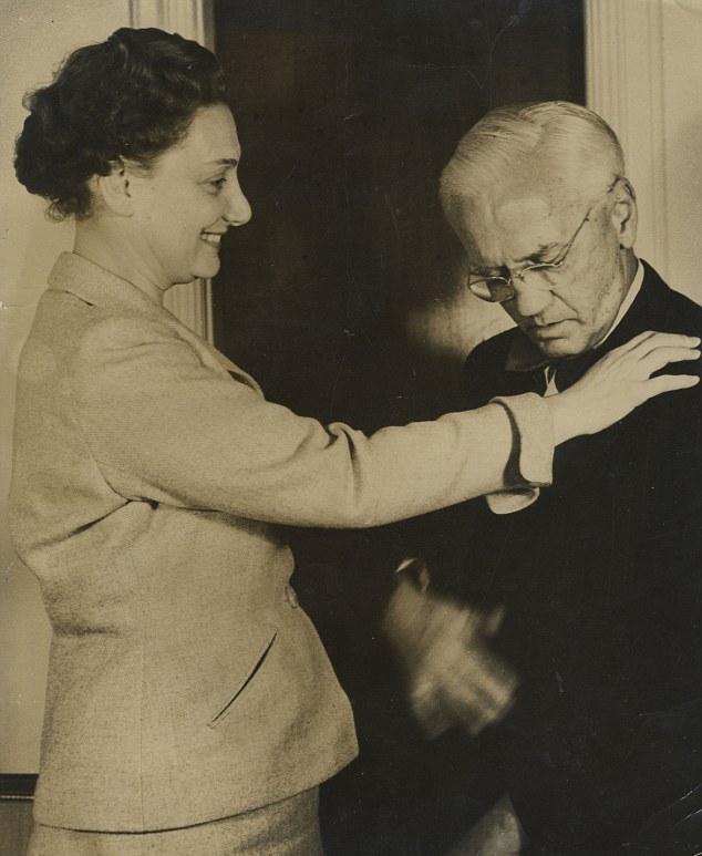 Alexander Fleming con la sua seconda moglie Amalie