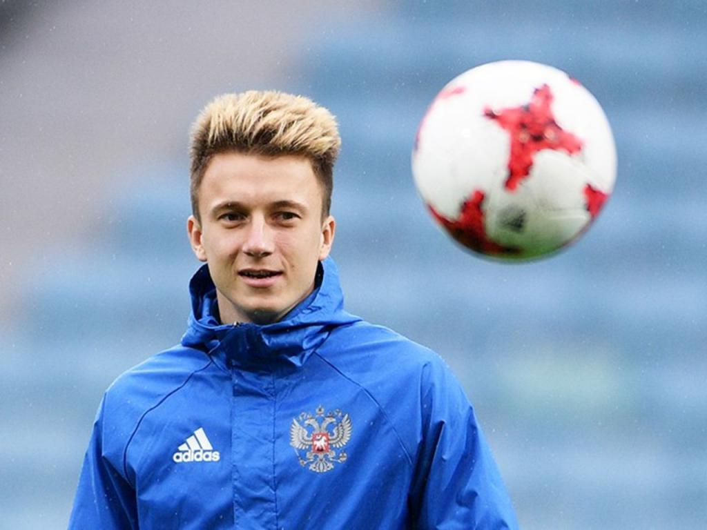 Giocatore della squadra nazionale russa