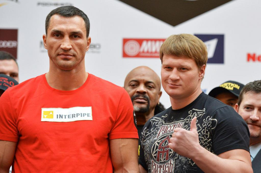 Povetkin i Klitschko