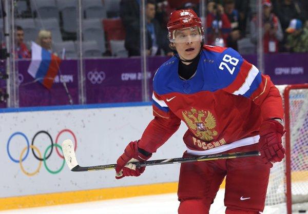 Alexander Semin nella squadra russa