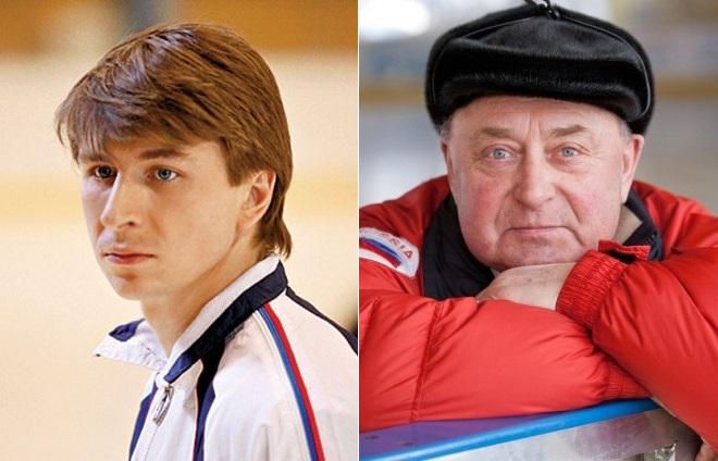 Алексей Ягудин и Алексей Мишин