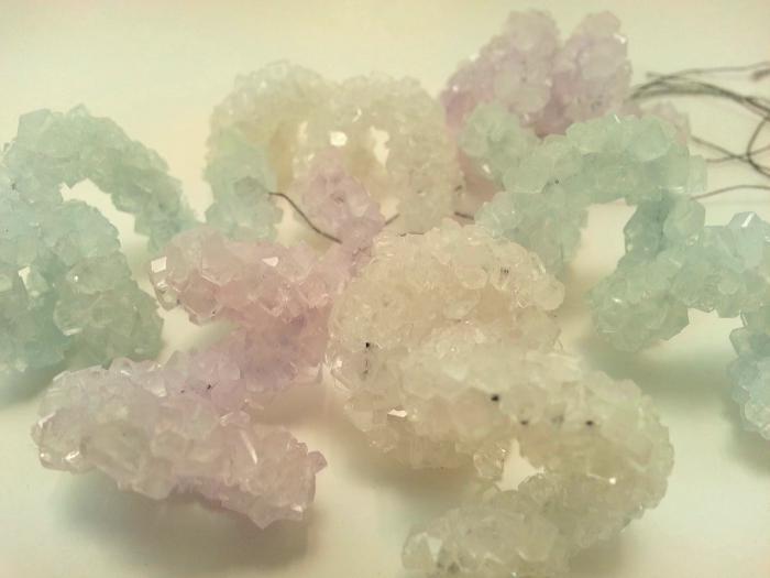 како направити кристал од шећера