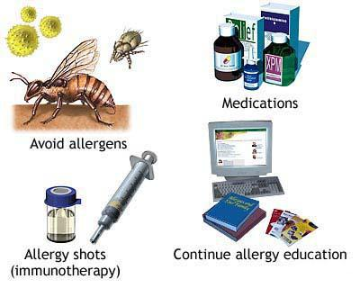 liječenje alergijske reakcije