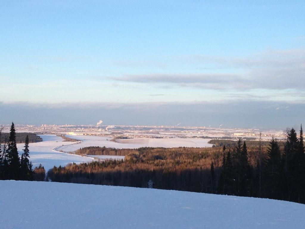vista da Ivan Mountain