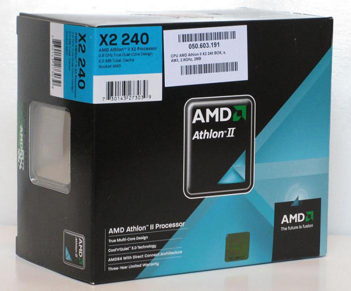 processore amd athlon tm ii x2 240
