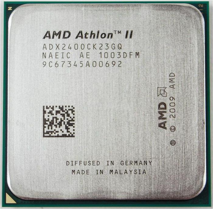 dualcore amd athlon ii x2 240
