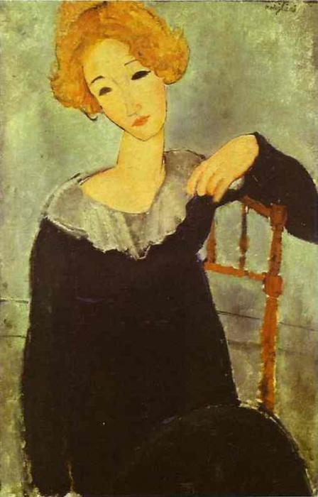 Amedeo Modigliani lavora