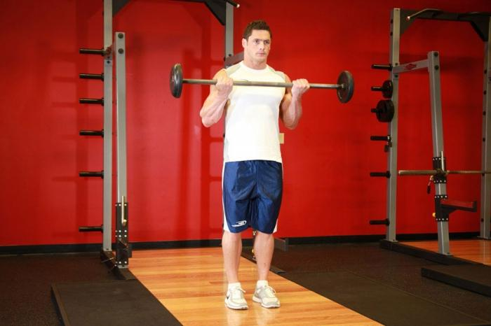 kako swing biceps dumbbells