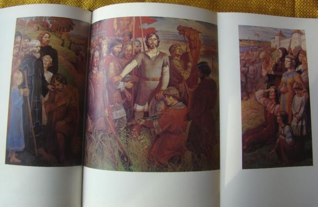 triptych obrázky