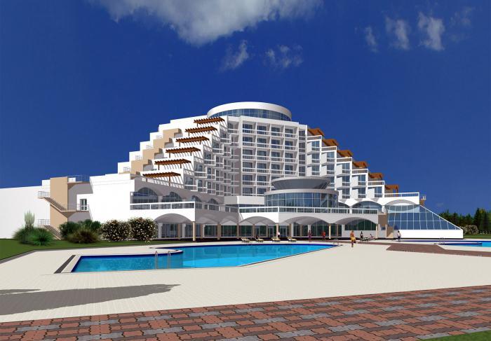 Hotel a Anapa con piscina