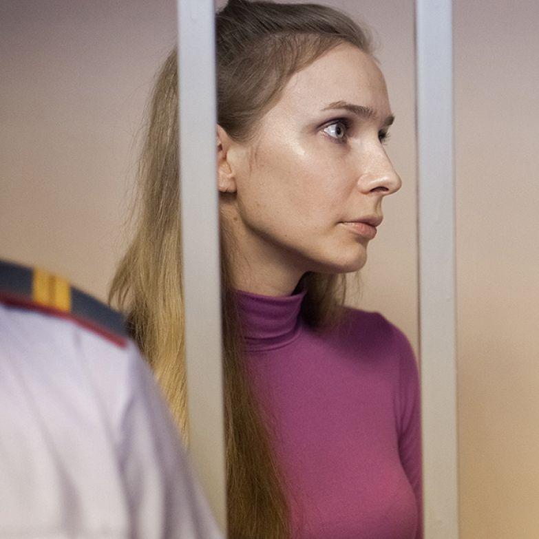 Anastasia all'udienza della corte