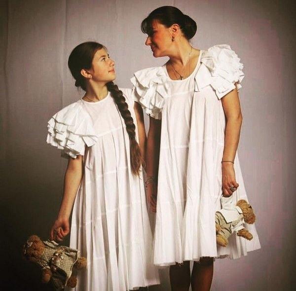 Мелникова и њена ћерка