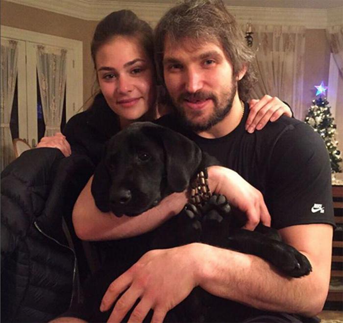 Anastasia Ovechkina Shubskaya e Alexander Ovechkin