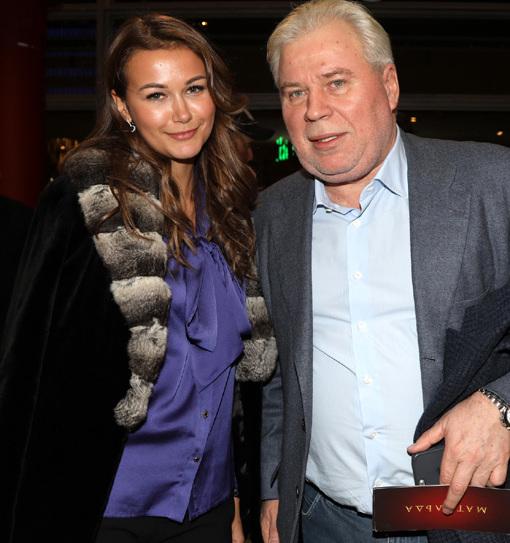 Със съпруга Анастасия