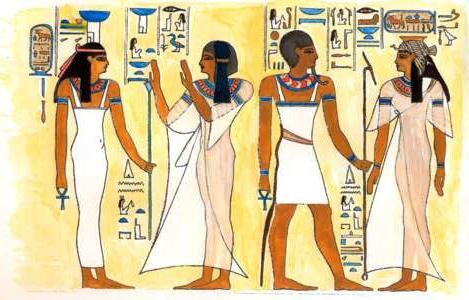 sviluppo dell'antica arte egizia