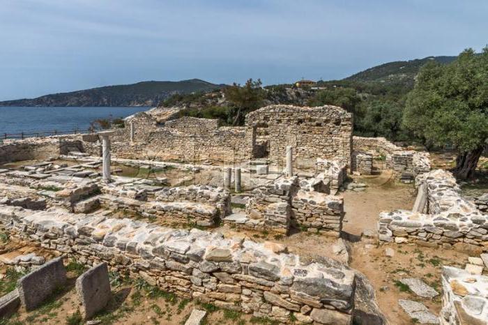antica città capitale della macedonia