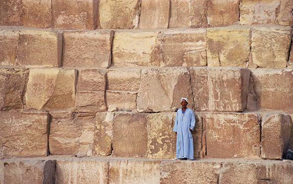 La storia egizia delle piramidi