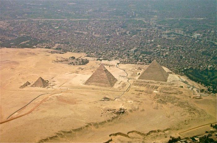 le grandi piramidi d'Egitto