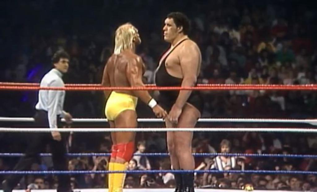 Andre the Giant e Hulk Hogan