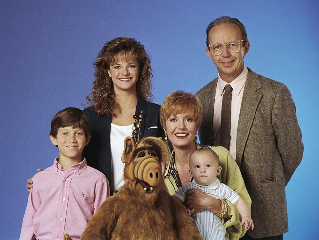 Il cast della serie TV Alf