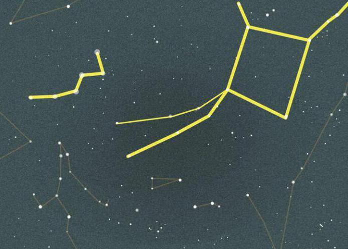 konstelacija zvijezde andromeda