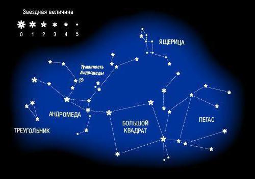 Fotografija zviježđa Andromede