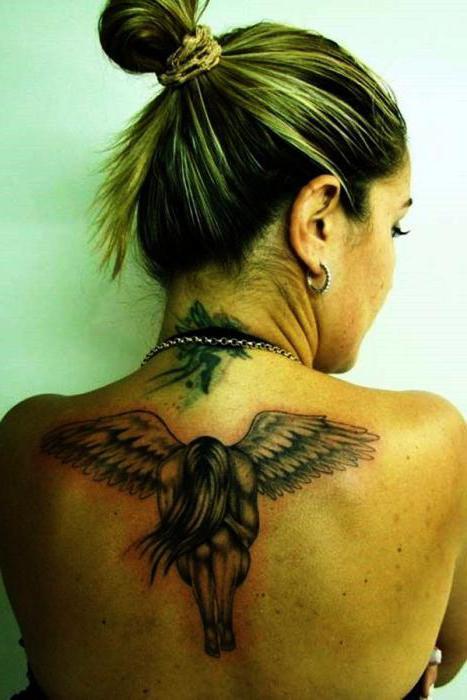 Angel Tattoo Znaczenie