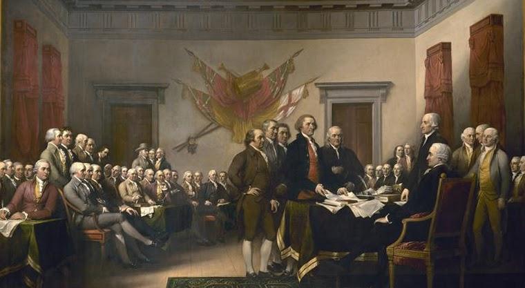 Приемане на американската конституция