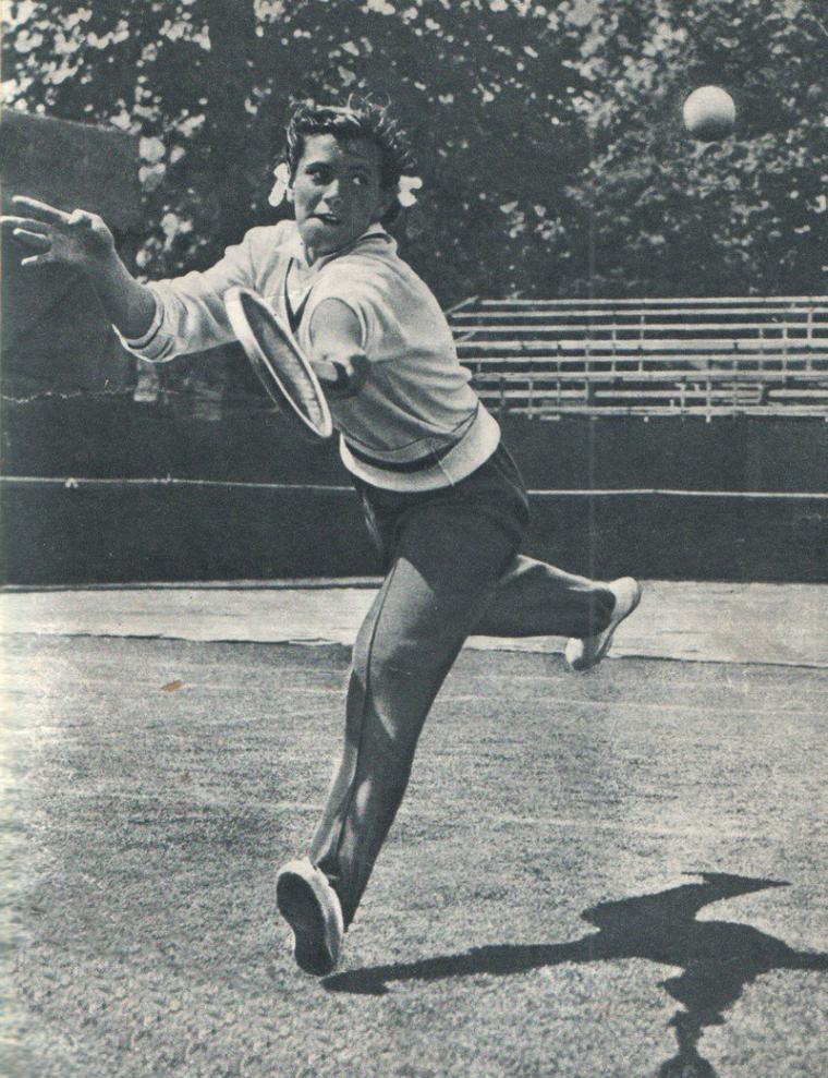 Anna Dmitrieva a Wimbledon