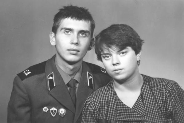 Anna con il suo primo marito