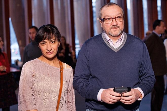 Anya s bivšim suprugom