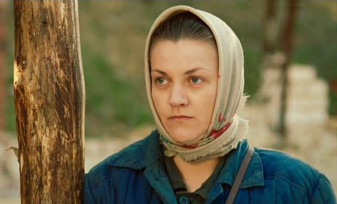 aktorka Ukolova w filmie