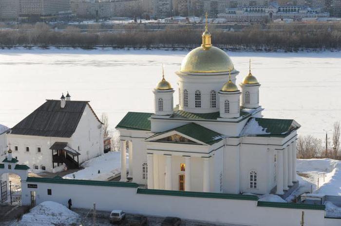 Благовещение мъжки манастир в Нижни Новгород