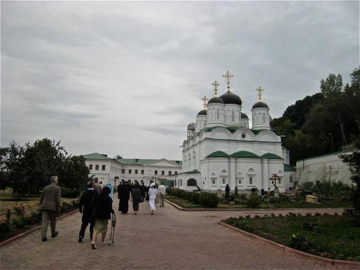 Благовещение манастир Нижни Новгород как да се получи