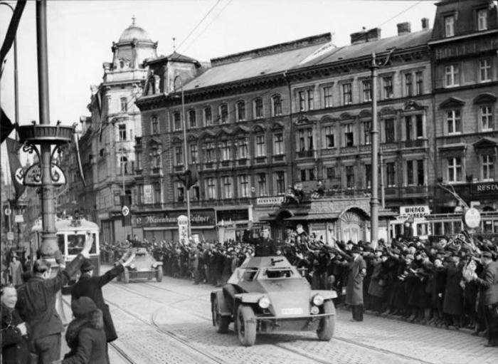 Austrijska nacistička Njemačka 1938