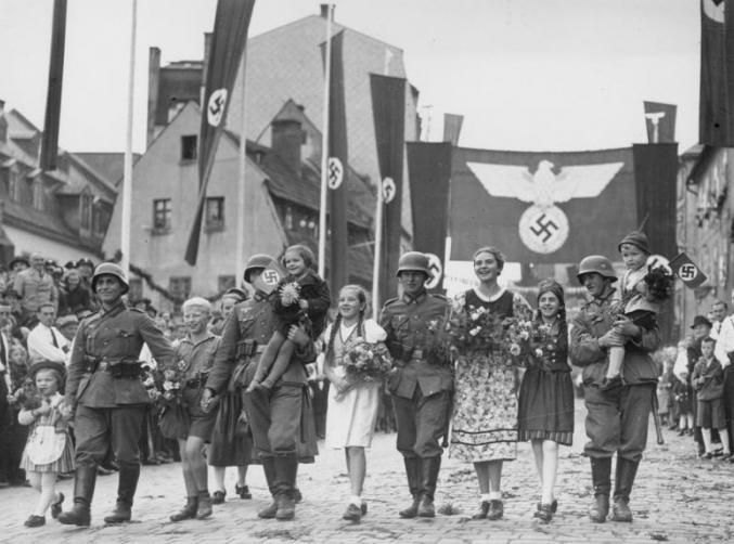 Anschluss of Austria 1938