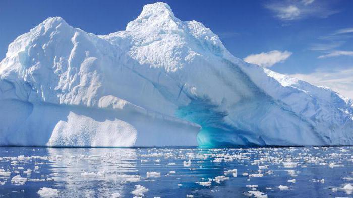 progetto sul clima rigido dell'Artico e dell'Antartide