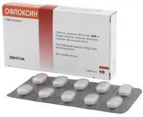 návod k použití ofloxinu