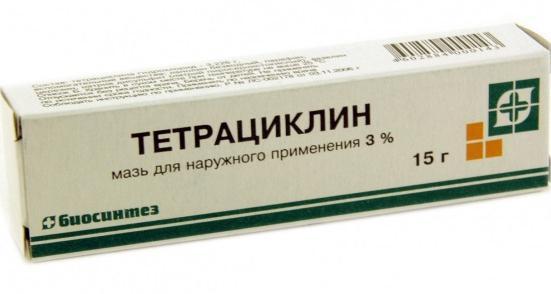 tetracyklinu
