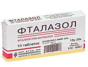 istruzioni per l'uso di ftalazolo