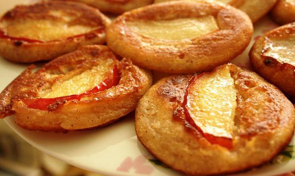 palačinke z bučkami z jabolki