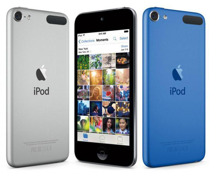 apple ipod touch 6 Specifiche tecniche