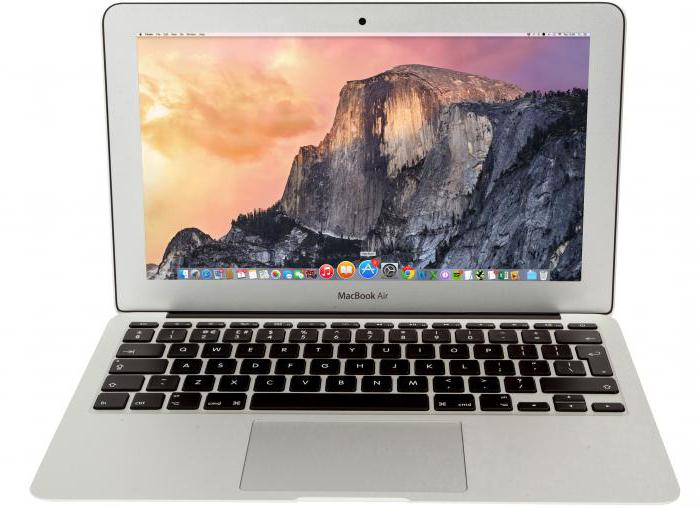 Apple MacBook Air 13 specifikace