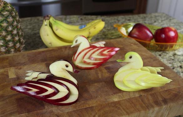 ябълков лебед